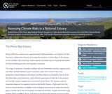 Assessing Climate Risks in a National Estuary