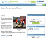 The Advantage of Machines