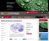 Advanced System Architecture, Spring 2006