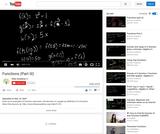 Algebra: Functions Part 3