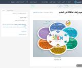 انفوجرافيك STEM في التعليم