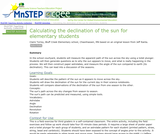 Calculating the Declination of the Sun for Elementary Students
