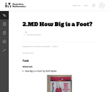 2.MD How Big is a Foot?