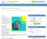 Global Climate Change Lesson