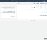 10-3:Angular Acceleration