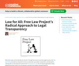 Law for All: Free Law Project's Radical Approach to Legal Transparency