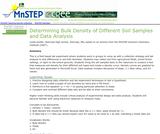 Determining Bulk Density of Different Soil Samples and Data Analysis