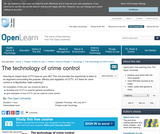 The Technology of Crime Control