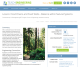 Food Chains and Food Webs - Balance within Natural Systems