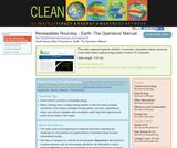 Renewables Roundup - Earth: The Operators' Manual