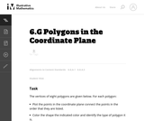 6.G Polygons in the Coordinate Plane