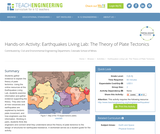 Earthquakes Living Lab: The Theory of Plate Tectonics