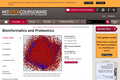 Bioinformatics and Proteomics, January (IAP) 2005