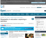 Geography in Education: Exploring a Definition