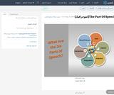 The Part Of Speech(انفوجرافيك)