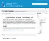 Participation Skills & Techniques Q2