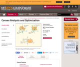 Convex Analysis and Optimization, Spring 2012