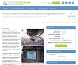 Earthquakes Living Lab: Designing for Disaster