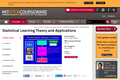 Statistical Learning Theory and Applications, Spring 2006