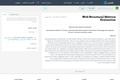 Web Structural Metrics Evaluation