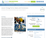 Energy Forms, States and Conversions