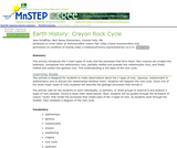 Earth History: Crayon Rock Cycle