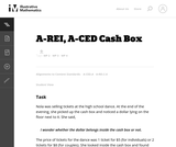 A-CED Cash Box