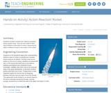 Action-Reaction! Rocket