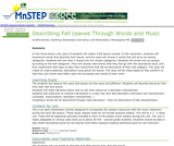 Describing Fall Leaves Through Words and Music