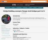 Bridge Building Concepts and Design: Arch Bridges 2 of 4