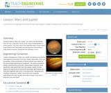 Mars and Jupiter