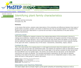 Identifying Plant Family Characteristics