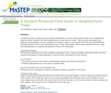 A Student Produced Field Guide to Neighborhood Trees