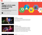 9 TED Talks to make STEAM learning (more!) fun