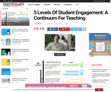 5 Levels Of Student Engagement: A Continuum For Teaching
