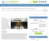 Bridging to Polymers: Thermoset Lab