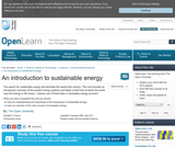 An Introduction to Sustainable Energy