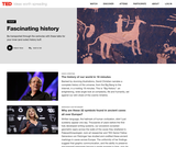 12 TED Talks about fascinating history