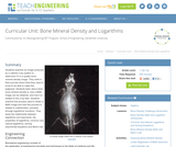Bone Mineral Density and Logarithms