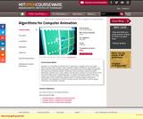 Algorithms for Computer Animation
