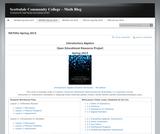 Introductory Algebra Student Workbook - Fourth Edition