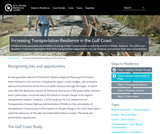 Increasing Transportation Resilience in the Gulf Coast