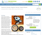 Angular Velocity: Sweet Wheels