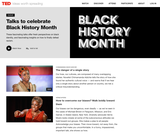 13 great TED Talks to celebrate Black History Month
