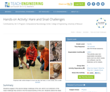 Hare and Snail Challenges