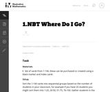 1.NBT Where Do I Go?