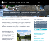 Improving Water Quality by Dealing with the First Inch of Rain