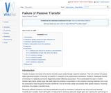 Failure of Passive Transfer