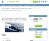 Aqua-Thrusters! (for Informal Learning)