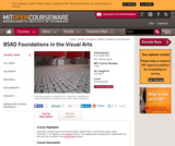 BSAD Foundations in the Visual Arts, Fall 2003
